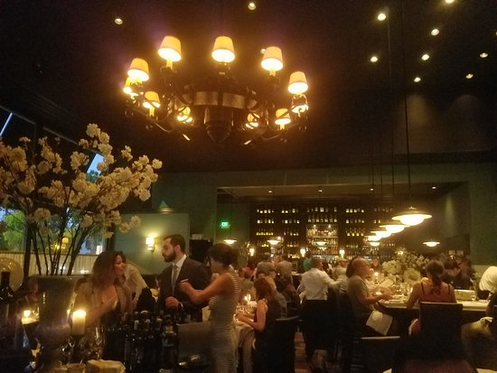 Osteria Mozza: Sweet, romantic ambience