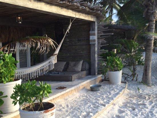 Nomade Tulum: Patio Of The Cabana
