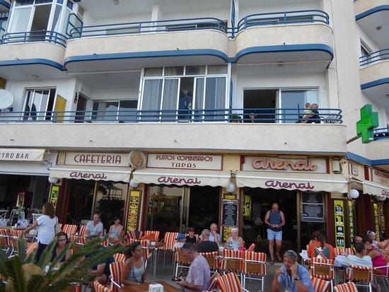 Cafetería Con Sus Inmensa Terraza Picture Of Arenal Calpe