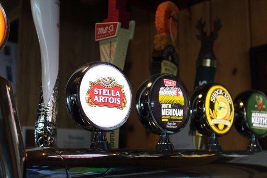 Fort Frances, Canada: Beer on Tap