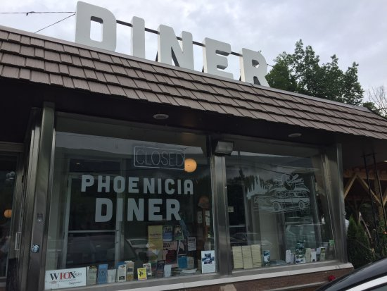 Phoenicia, NY: Great diner on HWY 28 in the Catskills