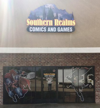 Southern Realms Comics & Games