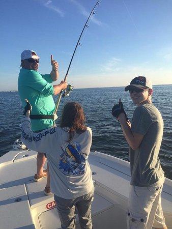 Boca Grande, FL: Happy family with catchfloridatarpon.com