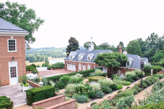 Pool House And Garden View Picture Of Albemarle Estate