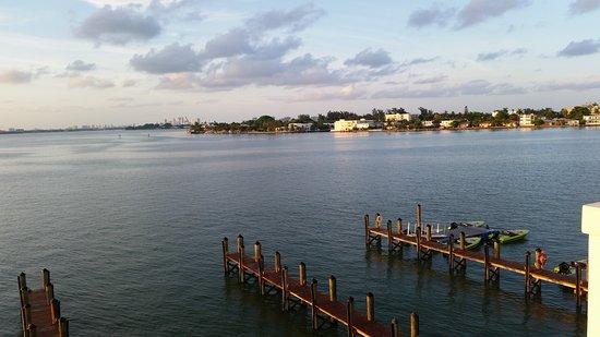 North Bay Village, FL: View from 3rd floor (top floor) of East building