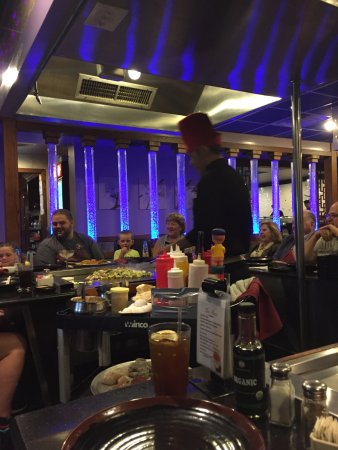 Pittsfield, MA: A birthday gathering at the adjacent grill