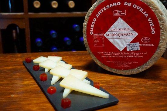 Delicatessen Merkajamon: ¿Aún no has probado nuestro Queso de Oveja viejo Zamorano?