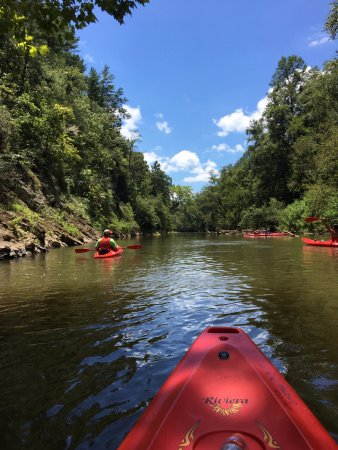 Dahlonega, Τζόρτζια: Kayaking - beautiful day