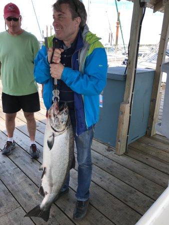 Campbell River, Canada: 35 lbs!