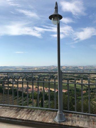 La Luma Hotel : La vista dalla terrazza