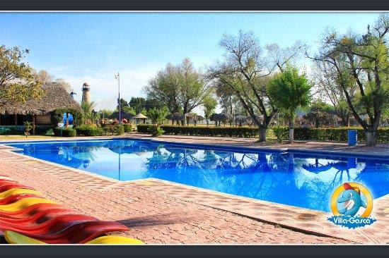 Foto de parque acuatico villa gasca celaya alberca de la for Alberca semiolimpica