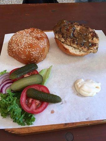 Grund : Chicken burger