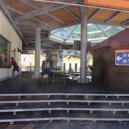 Sella Nevea, Ιταλία: stazione di partenza