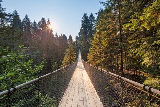 卡皮拉诺吊桥及公园