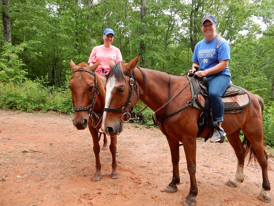 Blanche Manor Horseback Riding : top of the hill photo opt