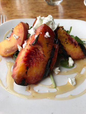 Greens Restaurant: Grilled Blossom Bluff Peaches