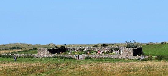 Castle walled garden