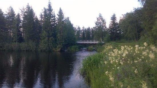 Utajarvi, Finland: From the dock