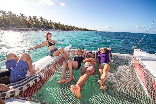 بونتا كانا, جمهورية الدومينيكان: Catamaran trip
