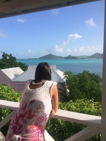 Cocobay Resort: View from 'Five Islands' balcony