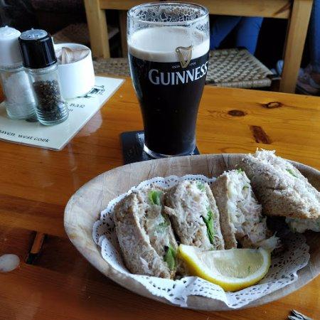 Crookhaven, Irland: the fantastic crab sandwich