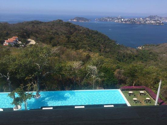 Hotel Encanto: vista en la terraza de la habitación