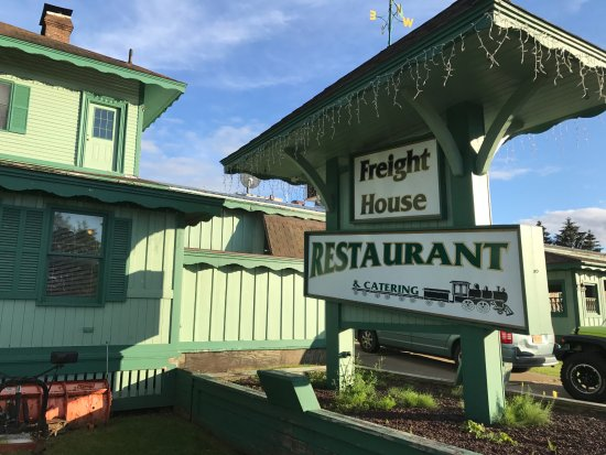 The Freight House: Restaurant entry and exterior