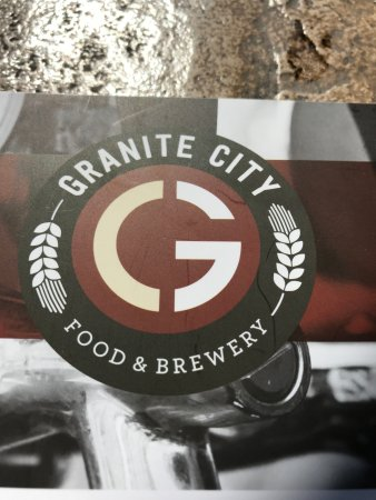 Granite City Food & Brewery: Menu cover