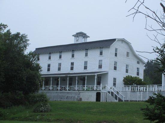 Marathon Inn: Widows' window