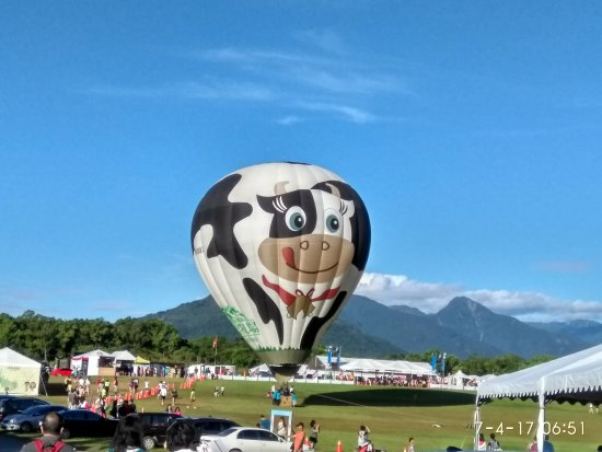 Luye, Taitung: Taitung Hot air balloon festival