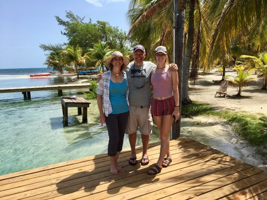 Glovers Reef Atoll, Belize: Isla Marisol is awesome!