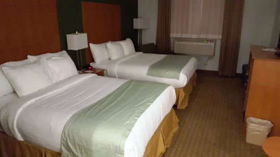 Best Western Garden Inn: Beds