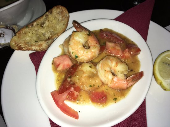 Longfellows: Seared Shrimp Scampi