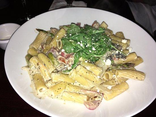 Longfellows: Vegetable Rigatoni