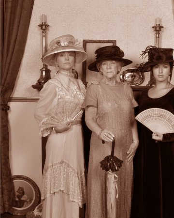 3 generations of women at Cobh Pastimes Studio