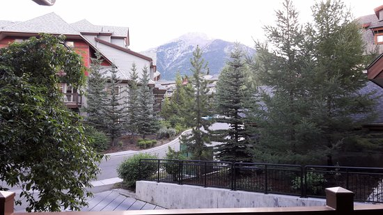 The Lodges at Canmore: View from balcony of Unit 224 Grizzly Lodge