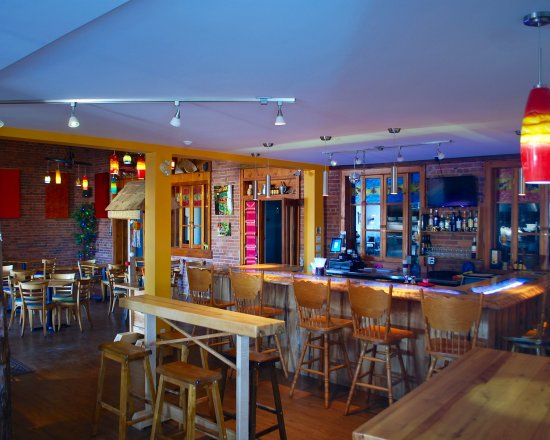 LannaThai Kitchen Bar And Dining Room With Views Into The