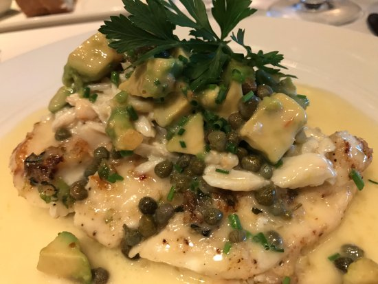 Eddie V's Prime Seafood: Fish, with parmesan - perfect taste