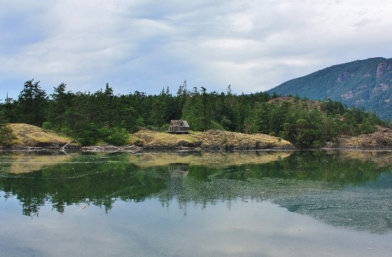 Nanoose Bay, Kanada: Jedediah Island adventure - explore the nature trails of this beautiful and historic marine park