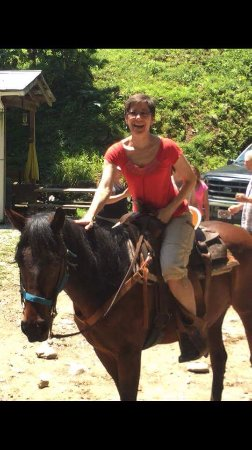 Nantahala Village Riding Stable: Enjoyment!