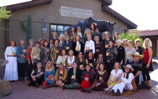 Wickenburg, Arizona: Cowgirl Up! Art From the Other Half of the West features renowned women artists.