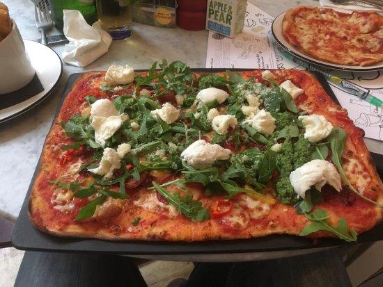 Pizza Express Glasgow 151 Queen St Merchant City Menu