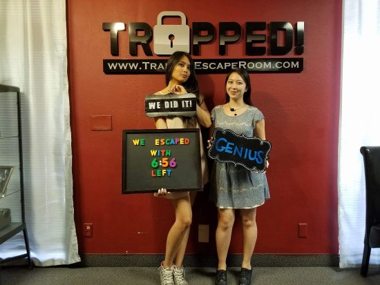 Trapped Escape Room