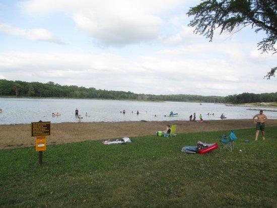 Lake Darling State Park Beach