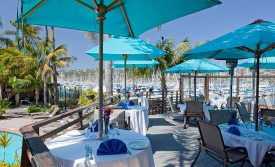Best Western Plus Island Palms Hotel & Marina: Blue Wave Bar & Grill Patio