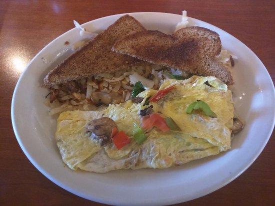 ริตซ์วิลล์, วอชิงตัน: Garden Omelet (with no cheese)