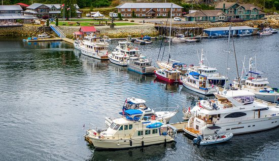 Shearwater Sport Fishing Resort & Marina Central Coast BC Canada