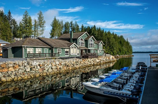 Shearwater, Канада: BC's Best Salmon & Halibut Fishing Resort in Canada