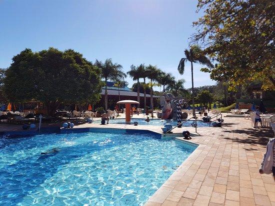 Hotel Estancia Barra Bonita: Uma vista das piscinas