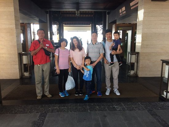 Miki & Family from Australia, Thank  you for using our service for Bali airport transfers